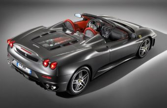 Black Ferrari Car Wallpaper 05 1400x1050 340x220