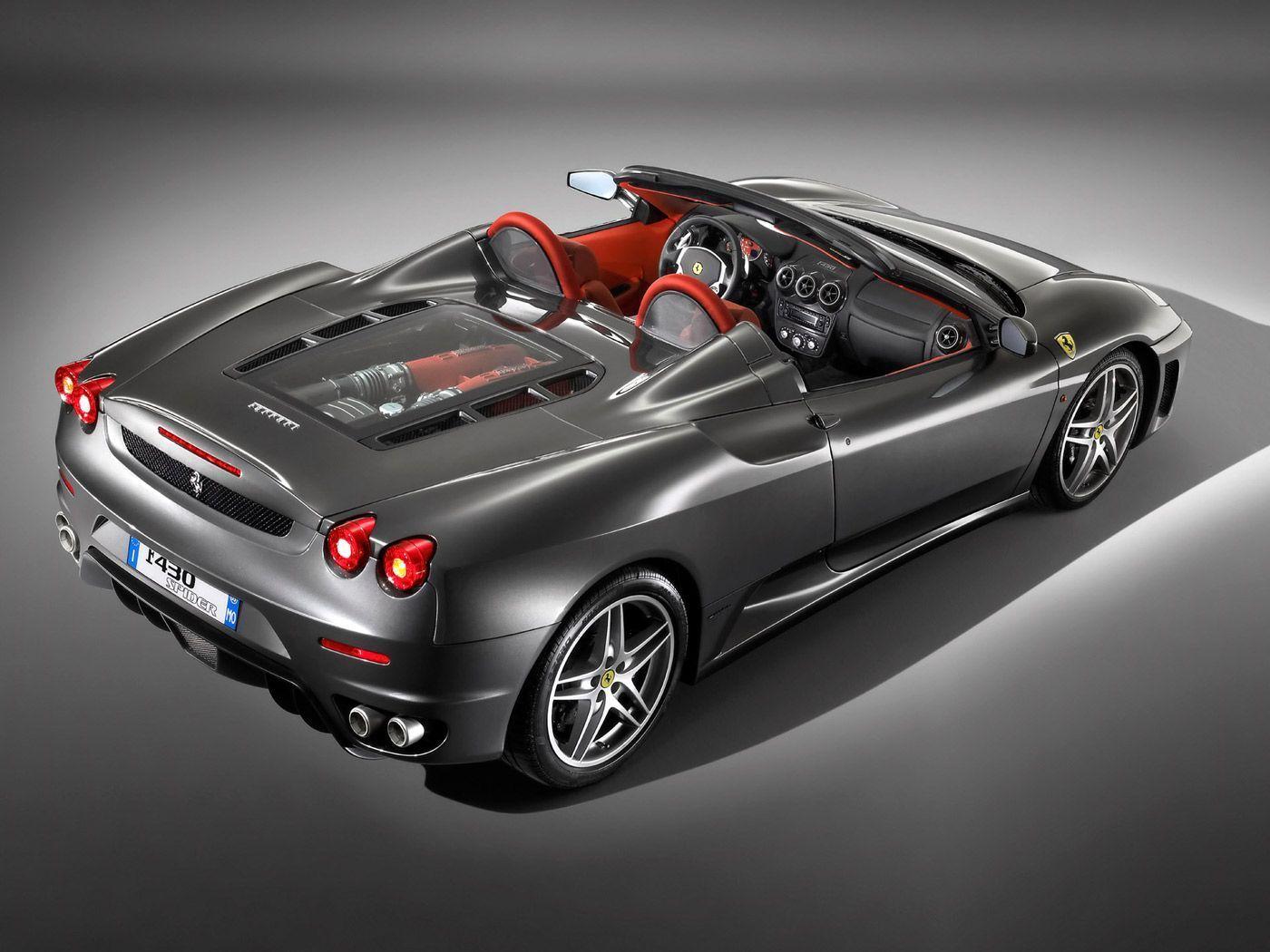 Black Ferrari Car Wallpaper 05 1400x1050