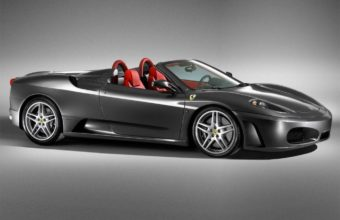 Black Ferrari Car Wallpaper 06 1024x768 340x220