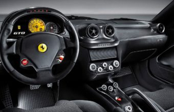 Black Ferrari Car Wallpaper 12 1280x1024 340x220