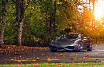 Black Ferrari Car Wallpapers