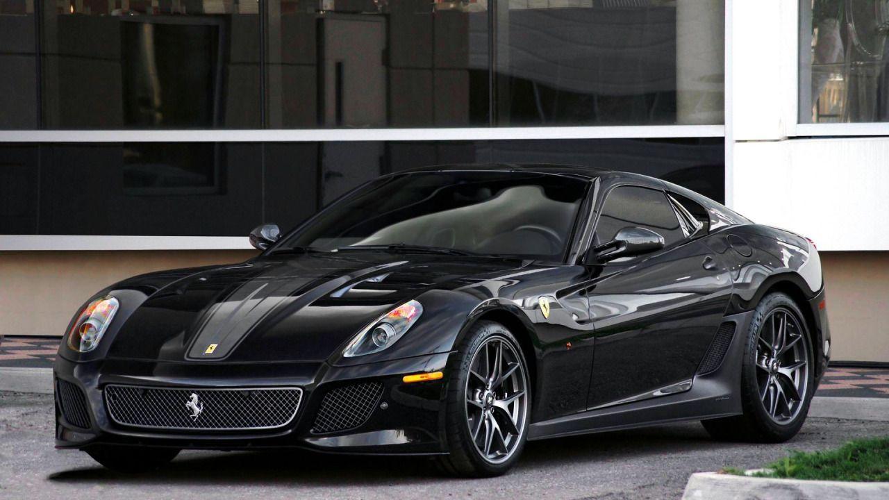 Black Ferrari Car Wallpaper 17