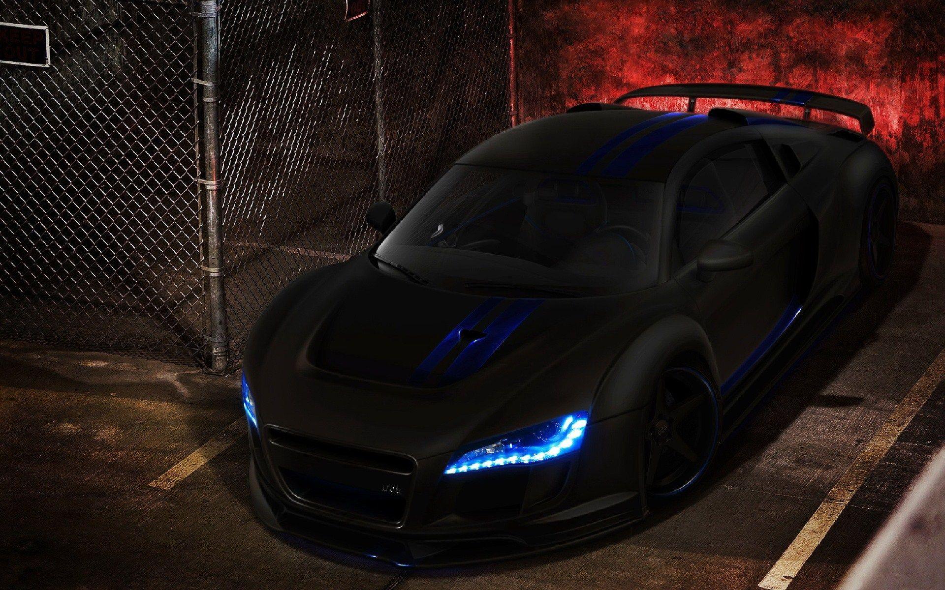 Black Ferrari Car Wallpapers Hd