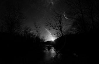 Black Moon Wallpaper 16 1920x1200 340x220
