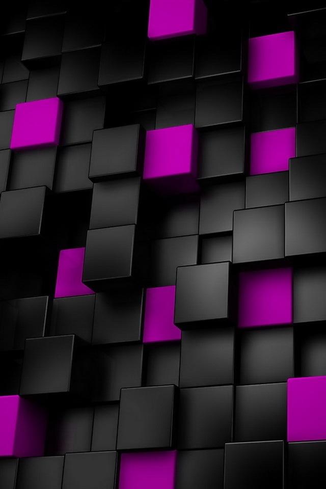 Black Purple Wallpaper 11  [640x960]