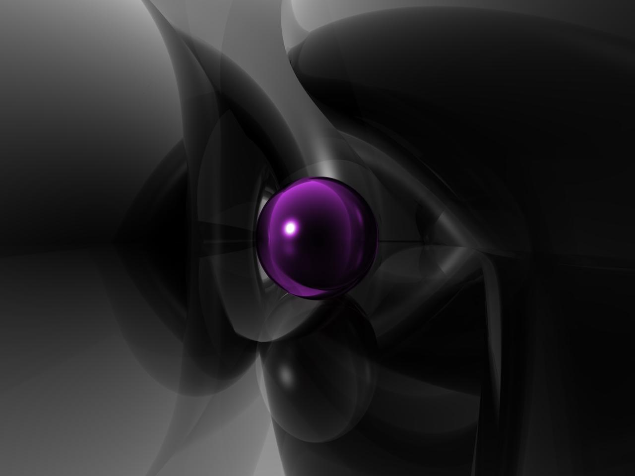 Black Purple Wallpaper 32