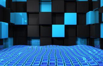 Blue And Black Wallpaper 36 2048x1152 340x220