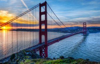 Bridge Golden Gate Wallpaper 1600x1280 340x220