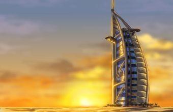 Burj Al Arab Wallpaper 15 1024x768 340x220