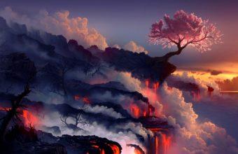 Cherry Blossom Tree Wallpaper 17 1920x1200 340x220