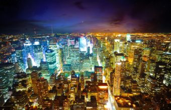 City Skyline Wallpaper 09 1920x1080 340x220