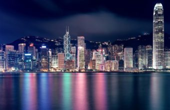 City Skyline Wallpaper 13 2560x1600 340x220