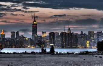 City Skyline Wallpaper 14 1920x1200 340x220