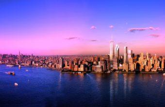 City Skyline Wallpaper 15 2560x1440 340x220