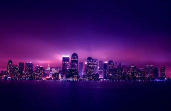 City Skyline Wallpaper 17 2560x1600 340x220