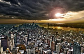 City Skyline Wallpaper 22 2560x1600 340x220