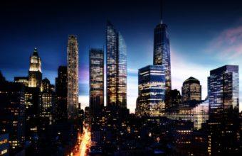 City Skyline Wallpaper 29 1920x1080 340x220