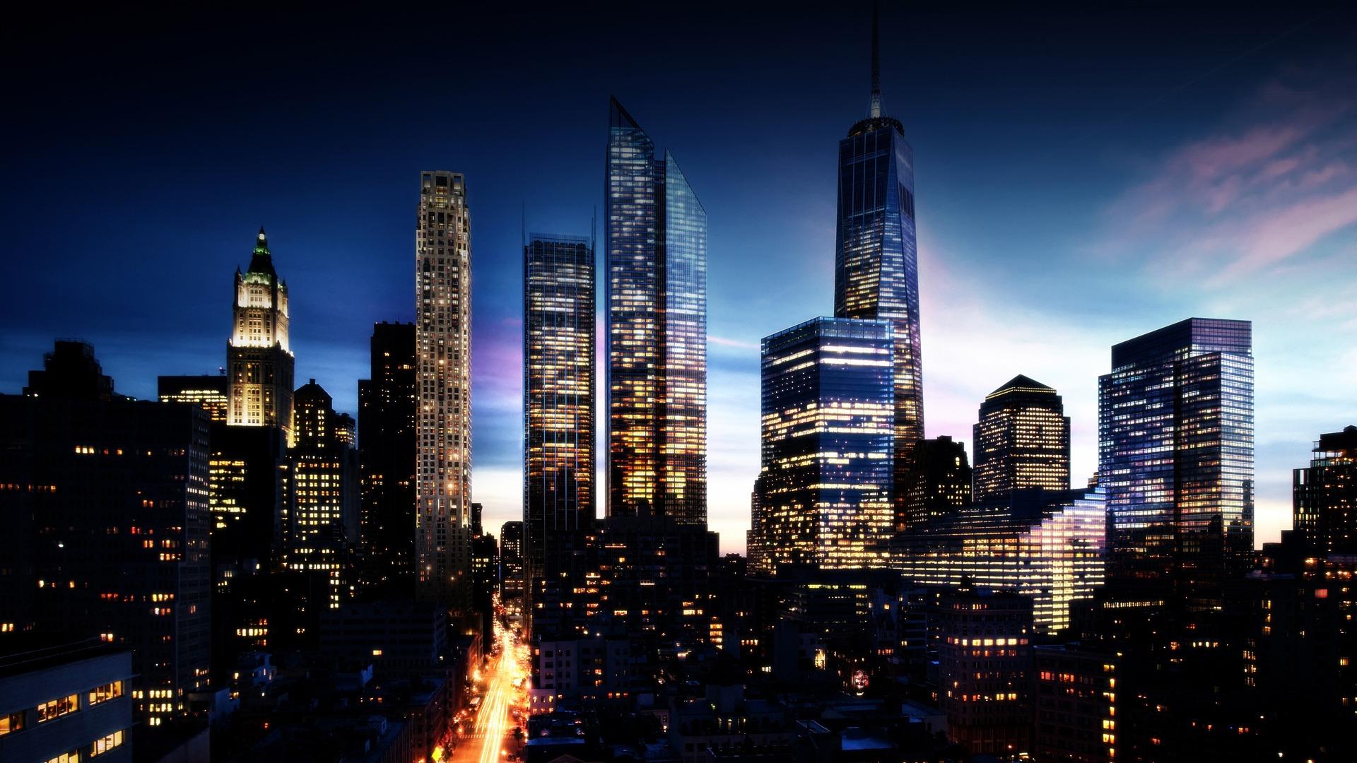 City Skyline Wallpaper 29