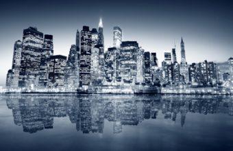 City Skyline Wallpaper 34 2560x1600 340x220
