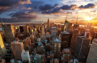 City Skyline Wallpaper 38 2880x1800 340x220