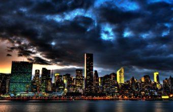 City Skyline Wallpaper 39 1920x1080 340x220