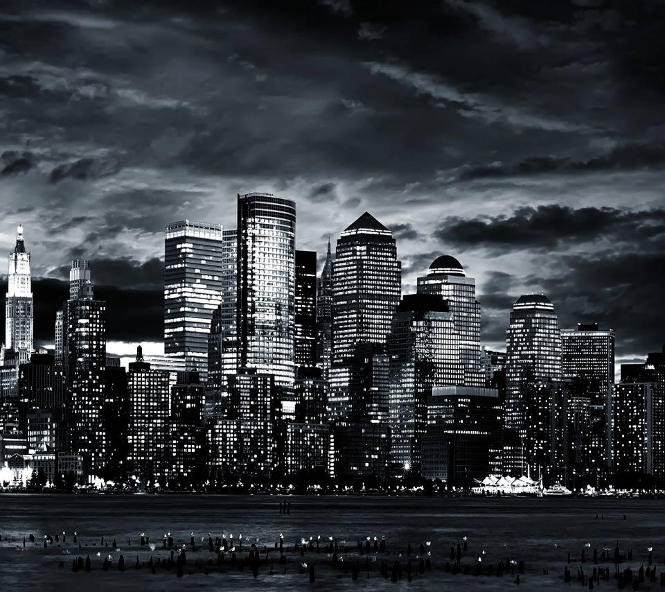 tokyo dark city skyline - photo #10