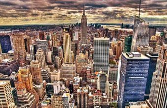 City Skyline Wallpaper 48 1920x1200 340x220
