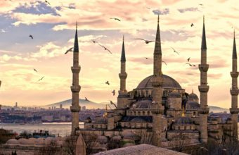 City Turkey Istanbul Sultanahmet Mosque Wallpaper 1600x1280 340x220