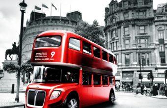 London Bus Wallpaper 1600x1280 340x220