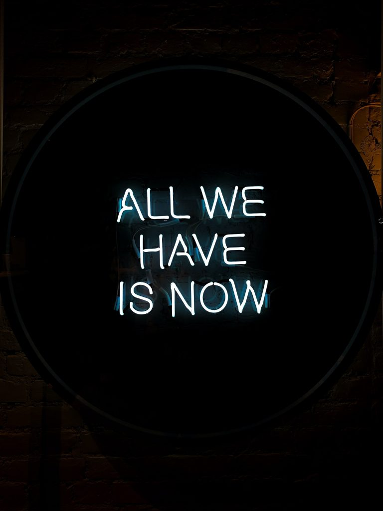 All We Have Is Now Wallpaper 02
