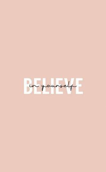 Believe in Yourself Wallpaper 02