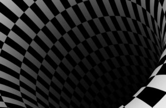 Black Hole Checkered Vortex Optical Illusions 720x1440 340x220