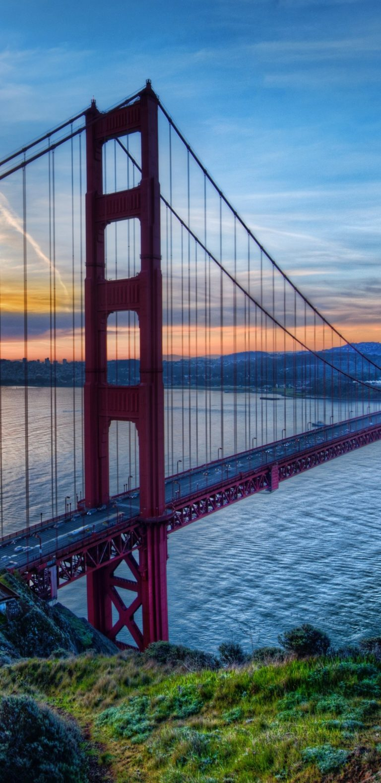 Bridge Golden Gate 1080x2220 768x1579