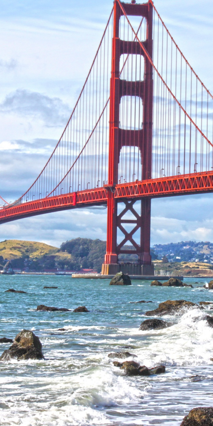 Bridge Golden Gate San Francisco 720x1440