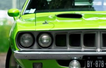 Cars Vehicles Barracuda Green Cuda 720x1440 340x220