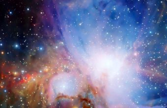 Colors Glow Nebula Pink Planets 720x1440 340x220