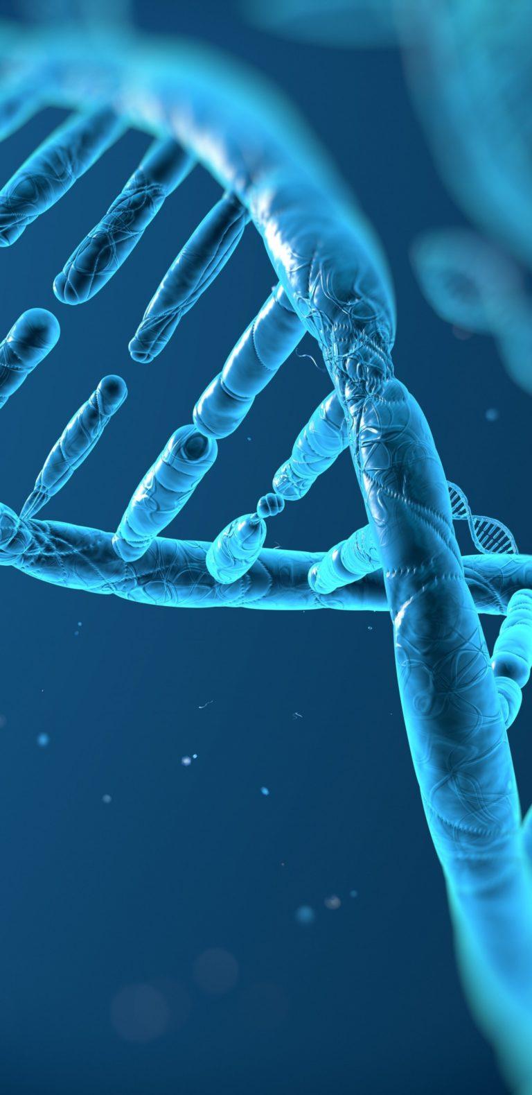 DNA 3D Structure Molecule Pattern 1080x2220 768x1579