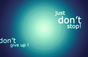 Dont Give Up Wallpaper 06 1600x900 340x220