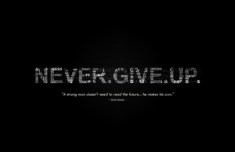 Dont Give Up Wallpaper 07 1600x900 340x220