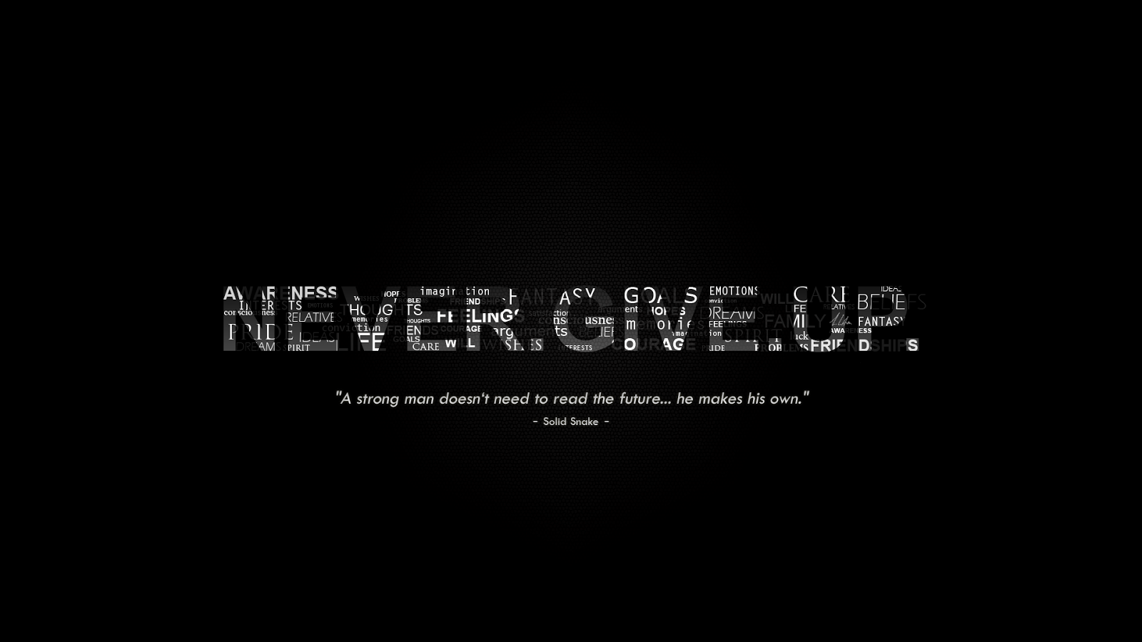 Don't Give Up Wallpaper 07 - [1600x900]