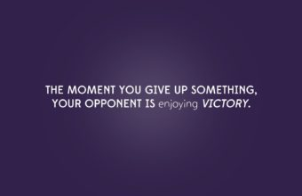 Dont Give Up Wallpaper 16 1920x1200 340x220