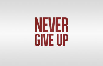 Dont Give Up Wallpaper 19 1440x900 340x220