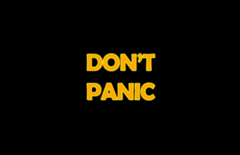 Don't Panic Wallpapers