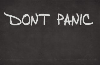 Dont Panic Wallpaper 11 1920x1080 340x220