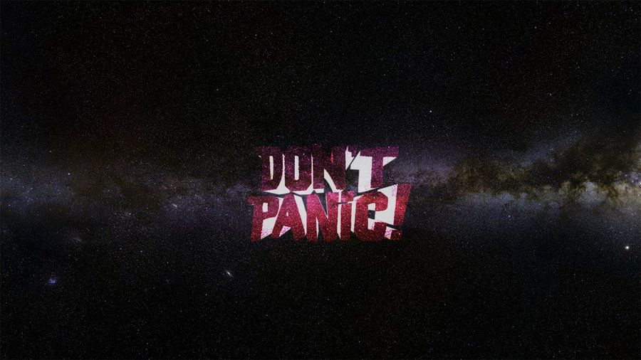 Dont Panic Wallpapers Hd