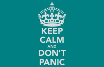 Dont Panic Wallpaper 18 1366x768 340x220