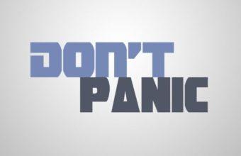 Dont Panic Wallpaper 22 640x1136 340x220