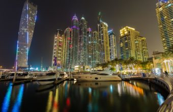 Dubai Marina Wallpaper 01 2048x1365 340x220