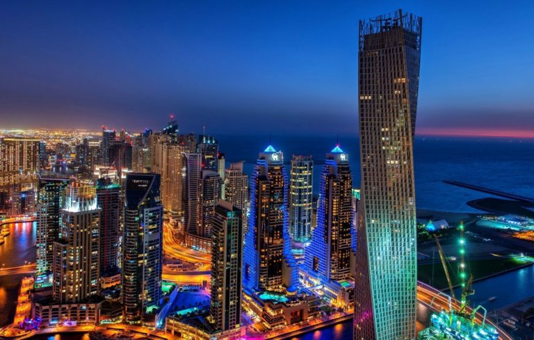 Dubai Marina Wallpaper 04 2048x1303 768x489