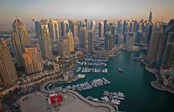 Dubai Marina Wallpaper 05 1920x1200 340x220